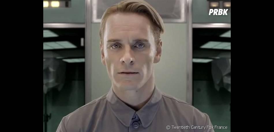 Michael Fassbenfer en androïde