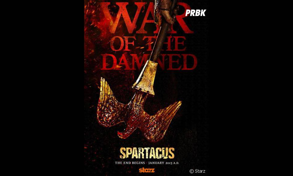 Premier poster de la saison 3 de Spartacus !