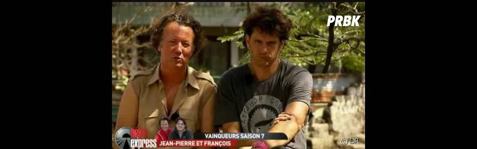 La coordination manquait à Jean-Pierre et François lors de l'épreuve du canoë