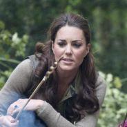 """Kate Middleton : """"promenons-nous dans les bois, pendant que William n'y est pas"""" ! (PHOTOS)"""