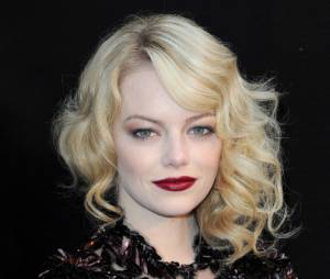 Emma Stone, sublime à Paris
