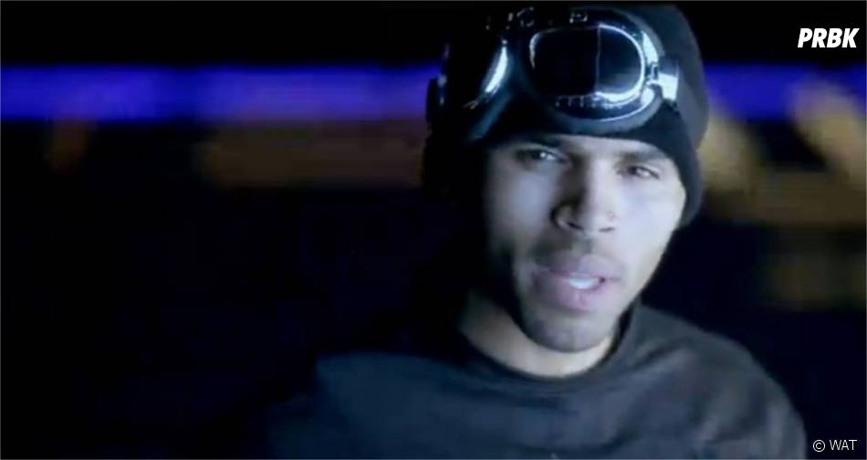 Chris Brown plongé dans un monde futuriste