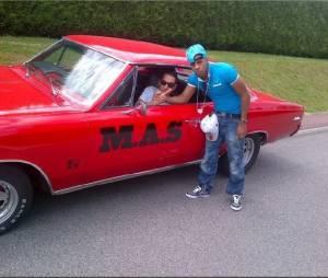 Canardo en plein tournage de clip avec MAS présent sur A La Youv