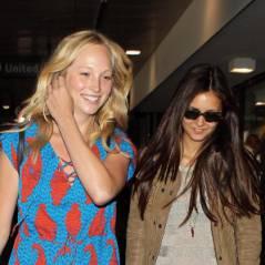 Vampire Diaries : Nina Dobrev et Candice Accola de retour à LA ! (PHOTOS)