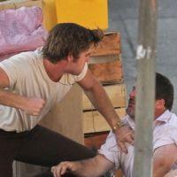 Liam Hemsworth : il devient violent ... sur le tournage de son prochain film ! (PHOTOS)