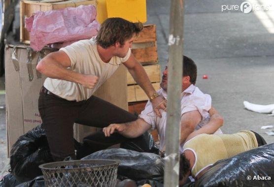 Liam Hemsworth devient violent sur le tournage d'Empire State