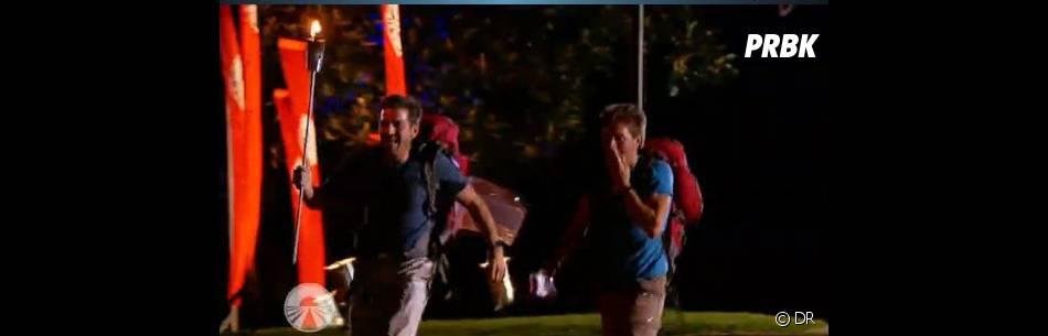 Ludovic et Samuel vont pouvoir allumer le flambeau de la victoire