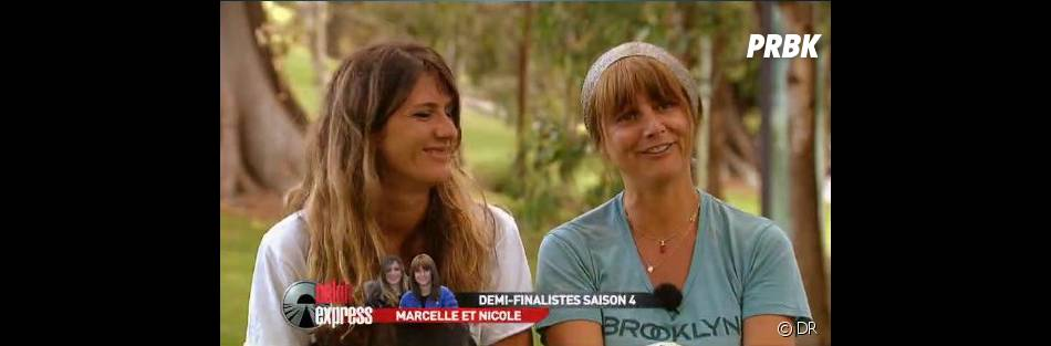 Marcelle et Nicole ont été très fair-play envers les frères belges