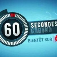 60 secondes chrono : mise en bouche ce soir sur M6 !