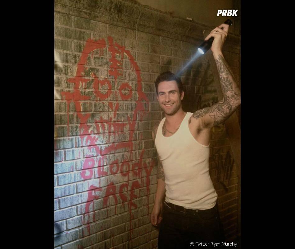 Première image d'Adam Levine sur le tournage d'American Horror Story