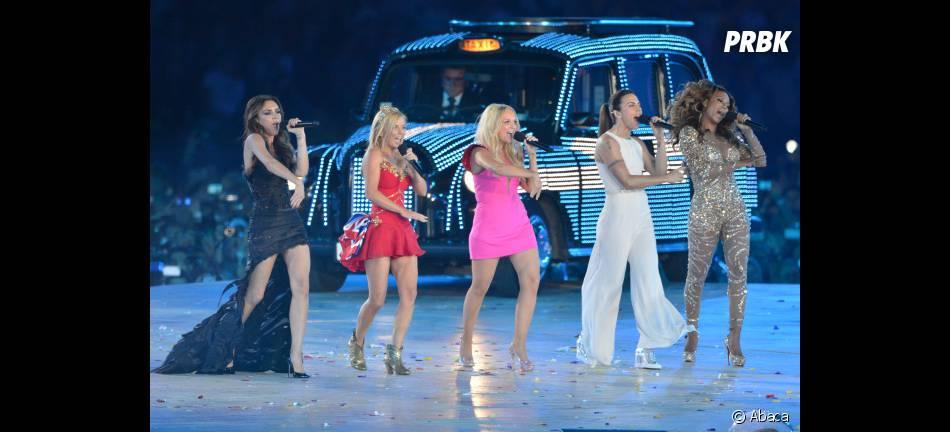 Les Spice Girls ont mis le feu à la cérémonie de clôture des JO de Londres