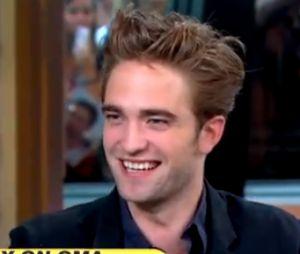 Robert Pattinson dans Good Morning America