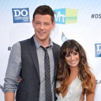 Lea Michele : terriblement sexy et décolletée au bras de Cory Monteith ! (PHOTOS)