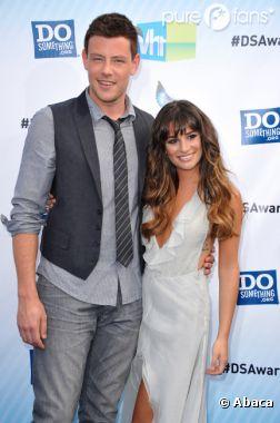 Lea Michele et Cory Monteith posent en duo