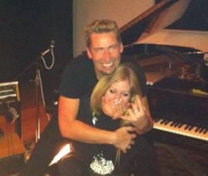Avril Lavigne fiancée à Chad Kroeger