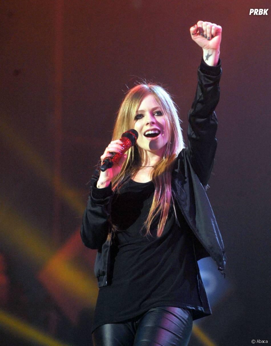 Tout sourit à Avril Lavigne