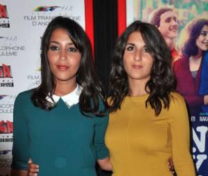 Leïla Bekhti et Géraldine Nakache, glamour pour présenter Nous York