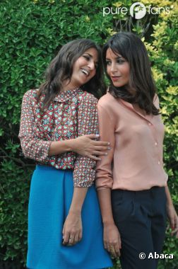 Leïla Bekhti et Géraldine Nakache, toujours aussi complices