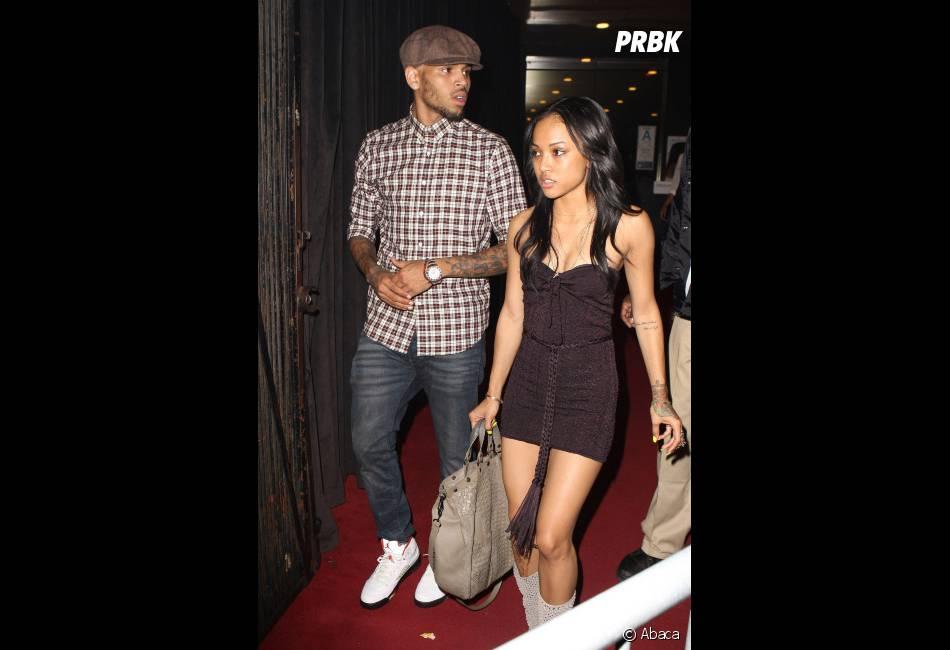 Karrueche Tran veut montrer qu'elle est toujours avec Chris Brown !
