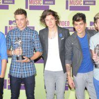 MTV Video Music Awards 2012 : One Direction et Chris Brown grands gagnants ! (palmarès)