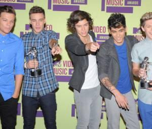 Les One Direction au top avec leurs trophées