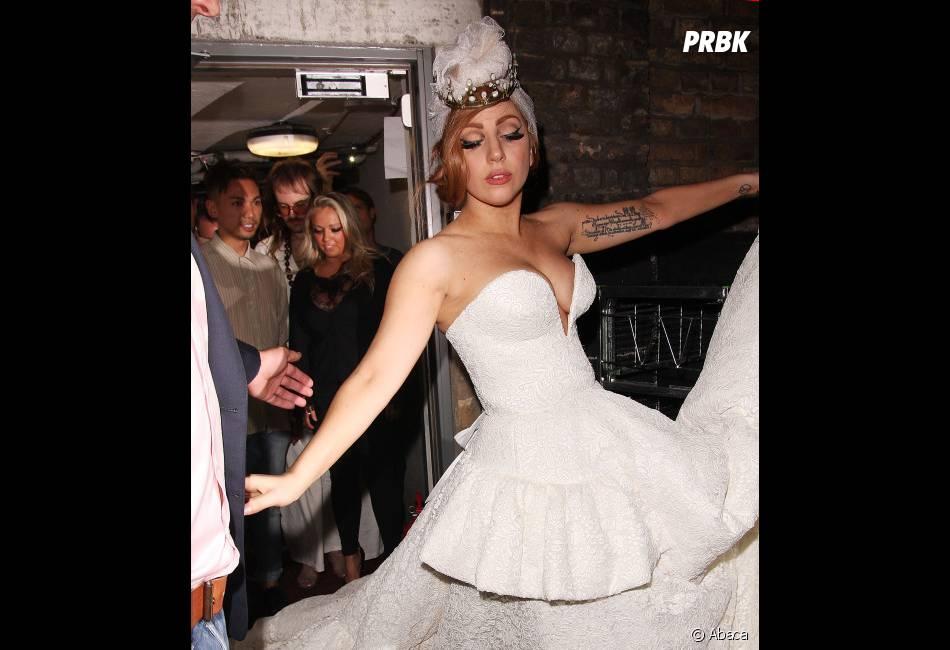 Lady Gaga plane... ou presque !
