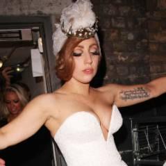 Lady Gaga en mariée exhib et défoncée à Londres (PHOTOS)
