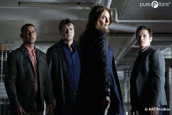 L'équipe au complet pour boucler l'affaire du meurtre de la mère de Beckett