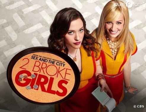 La saison 2 de 2 broke girls débarque bientôt