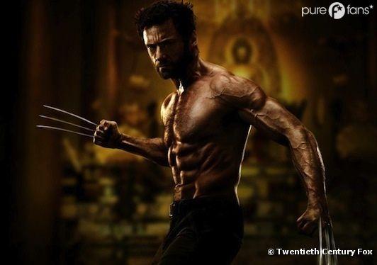 Hugh Jackman, plus musclé que jamais dans Wolverine 2