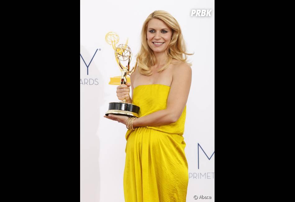 Claire Danes lors des Emmy Awards 2012