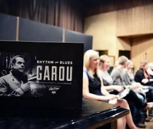 Garou à la rencontre de ses Purefans pour la pré-écoute de son album Rythm and Blues