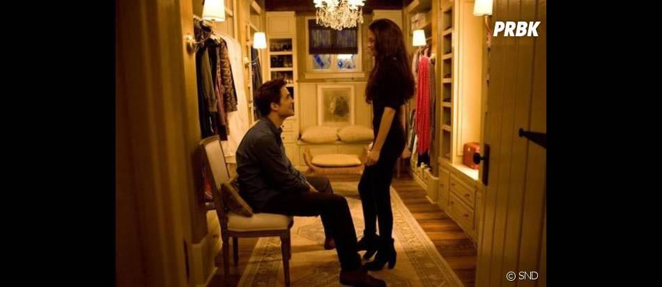 Edward et Bella dans leur nouvelle maison
