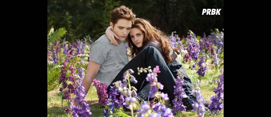 Edward et Bella dans la clairière