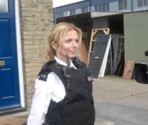Geri Halliwell : Sexy en tenue de policière