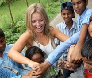Geri Halliwell : Un grand coeur pour les enfants népalais