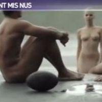 Dieux du Stade 2013 : les rugbymen et une jolie danseuse se foutent à poil dans le making-of (VIDEO)