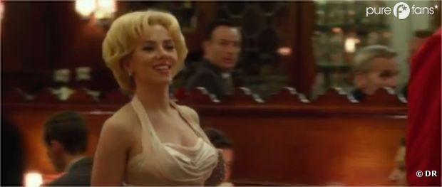 Scarlett Johansson très sexy dans Hitchcock !