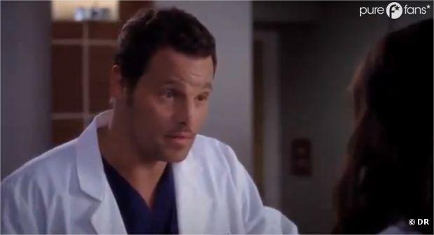 Alex se prend un vent dans Grey's Anatomy !