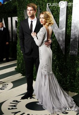 Liam Hemsworth et Miley Cyrus  Leur mariage prévu en juin 2013 ?