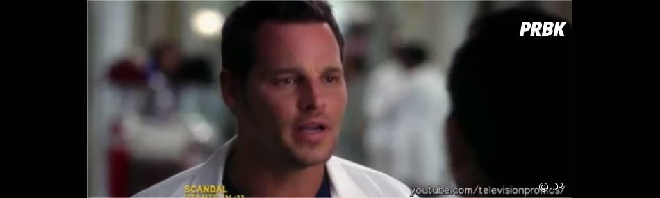 Alex va soutenir Arizona dans  Grey's Anatomy