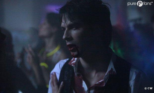 Un épisode 4 sanglant pour Damon dans la saison 4 de Vampire Diaries
