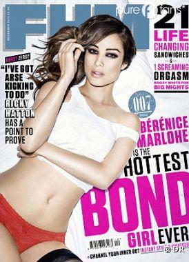 Bérénice Marlohe est carrément trop sexy !