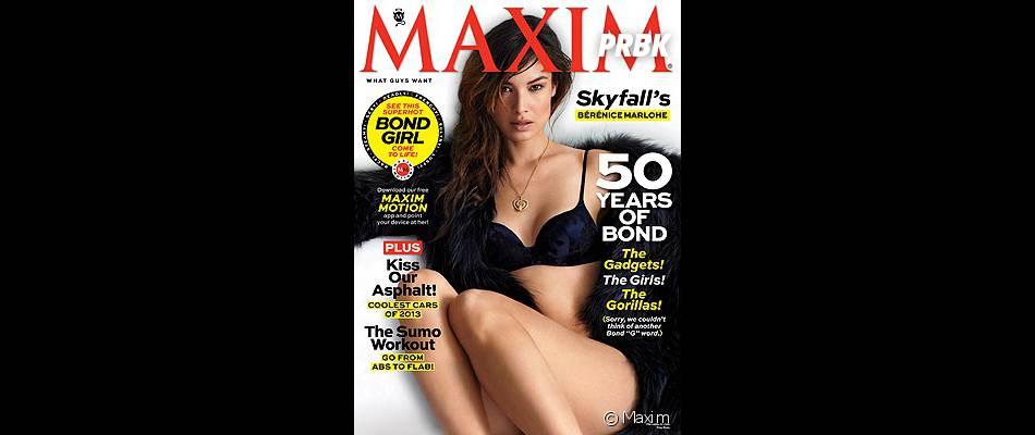 Bérénice Marlohe était déjà super canon en Une de Maxim !