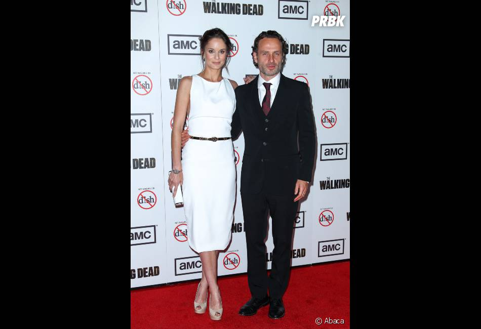 andrew lincoln et sarah wayne callies 233taient tr232s proches
