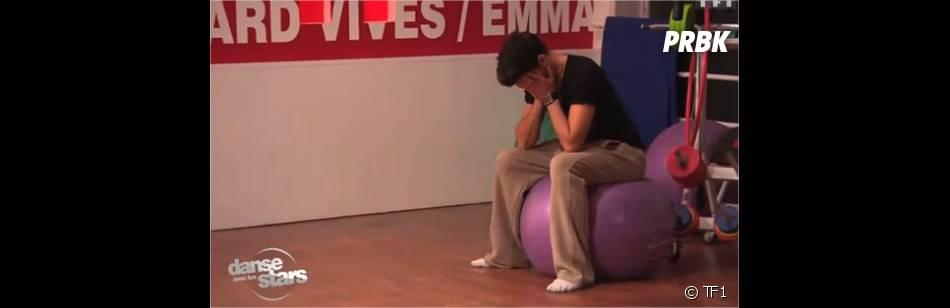 Danse avec les stars 2012 : Christophe Licata, fatigué et vénère !