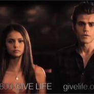 The Vampire Diaries : Nina Dobrev et Ian Somerhalder s'engagent pour la bonne cause ! (VIDEO)