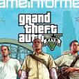 Couv' de Game Informer sur GTA 5