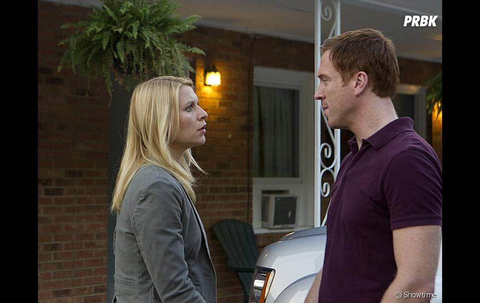 Carrie et Brody en cavale dans Homeland