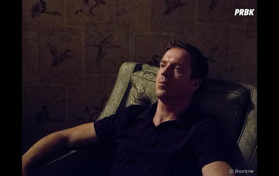 Damian Lewis dans l'épisode 8 de la saison 2 de Homeland